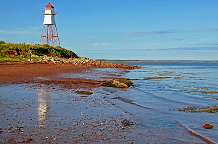 Pugwash Lighthouse looks out onto the Northumberland Strait.
