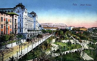 Pula - Pula Riviera in 1904
