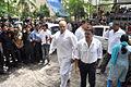 Puneet Issar visits Dara Singh's home 07.jpg