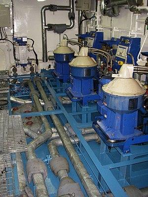 HFO purifiers in an Oil Tanker