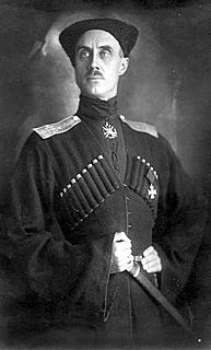 Pyotr Wrangel Russian army general