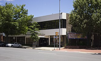 City of Queanbeyan - Queanbeyan City Council Chambers in Crawford Street