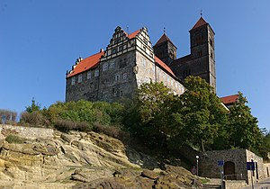 Annals of Quedlinburg - St. Servatius Church and the monastery