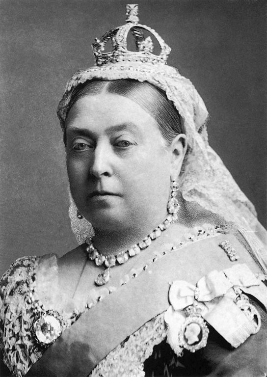 Photograph of Queen Victoria taken by Alexander Bassano in 1882, the year of Virginia Woolf's birth.  (Wikimedia Commons)