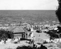 Queensland State Archives 2125 Pavilion and bathers Redcliffe December 1937.png