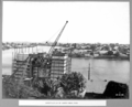 Queensland State Archives 3708 Construction of north main pier Brisbane 20 October 1936.png