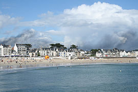 The beach at Quiberon