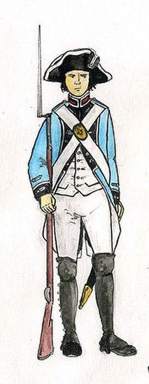 Étienne-Charles de Damas-Crux - Uniform of the Légion de Damas