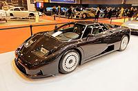 Rétromobile 2015 - Bugatti EB 110 GT - 1995 - 001.jpg