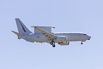 Airborne early warning and control - RAAF Boeing E-7A Wedgetail (Boeing 737 AEW&C)