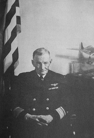Naval Aviation Photographic Unit - Image: R Adm John S Mc Cain, Sr, by Steichen