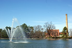 Rocky Mount, North Carolina - Rocky Mount city lake in 2009