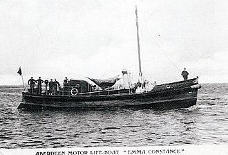 Barnett-class lifeboat - Image: RNLB Emma Constance 1928