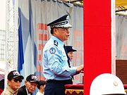 ROCAF General Yen Ming Opening Speech in Chiayi Air Force Base Open Day 20120811a