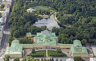 Ivan Starov - Aerial view of Tauride Palace