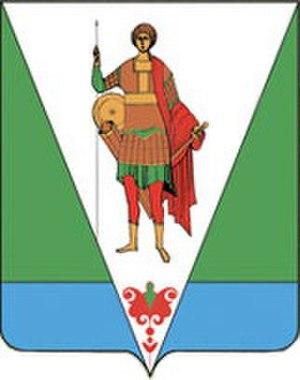 Verkhnetoyemsky District - Image: RUS Верхнетоемский район COA