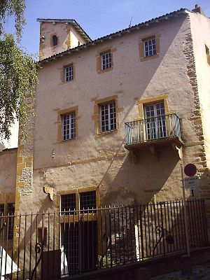 François Rabelais - The house of François Rabelais in Metz
