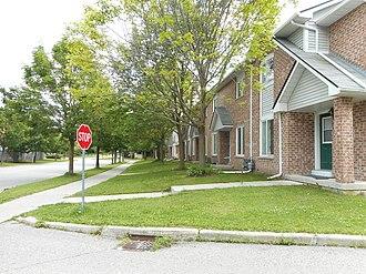 Markham, Ontario - Public housing in Cachet, Ontario.