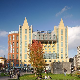 Radisson Blu - Image: Radisson Blu Astrid Hotel, Antwerp
