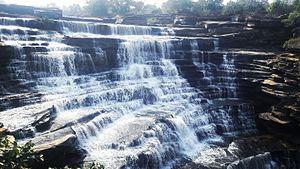 Chandra Prabha Wildlife Sanctuary - Rajdari falls