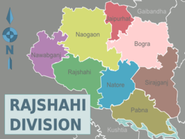 Districten in Rajshahi