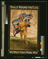 """Rally round the flag. """"We must have more men"""" LCCN2003675287.tif"""