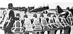 Randolph Field - Flight Cadets Waiting For Their Planes.jpg