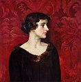 Ranken, William Bruce Ellis; Lady in Brown.jpg