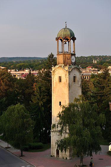 Разград, Болгария, 1864 г., башня с часами.jpg