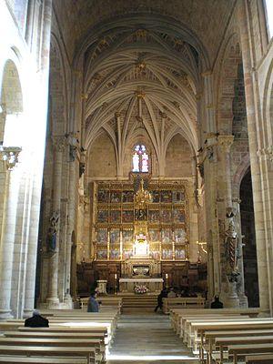 Basílica de San Isidoro, León - Interior of the Basilica of San Isidoro.