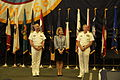 Rear Admiral Truelove, CG Callaghan and Rear Admiral Mewbourne (14266590678).jpg