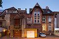 Rear facades Veilchenstrasse Schiffgraben 37 39 Mitte Hannover Germany.jpg
