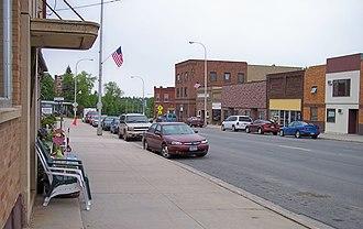 Red Lake Falls, Minnesota - Main Avenue in downtown Red Lake Falls in 2007