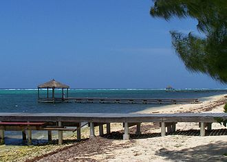 Grand Cayman - Red Bay Dock and adjacent piers, South Sound, George Town district