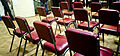 Red chairs, Abbey Road Studios, 80th Anniversary, March 9, 2012.jpg