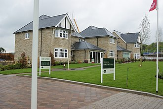 Redrow plc - A Redrow development in Horsforth, West Yorkshire