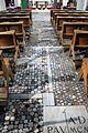 Reggio calabria, chiesa degli ottimati, interno, resti dei mosaici cosmateschi 01.jpg
