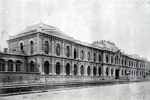 El Regimiento Tacna Nº1 ( 1910 ).