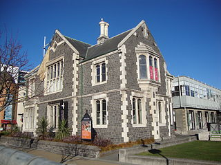 Registry Building Former registry building for Canterbury University College, Arts Centre, Christchurch