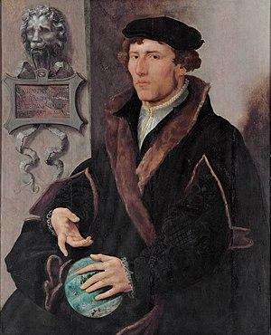 Gemma Frisius - Gemma Frisius, (Maarten van Heemskerck, c. 1540-1545)