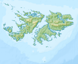 Mount Usborne is located in Falkland Islands