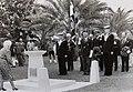 Remembrance Day ceremony at HMS Jervis Bay memorial at Hamilton, Bermuda.jpg