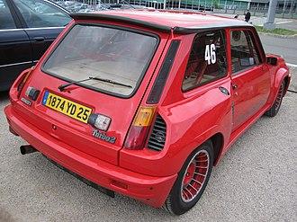 Renault 5 Turbo - Image: Renault 5 Turbo 2 001