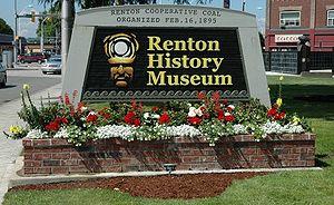 Renton History Museum - Renton History Museum sign