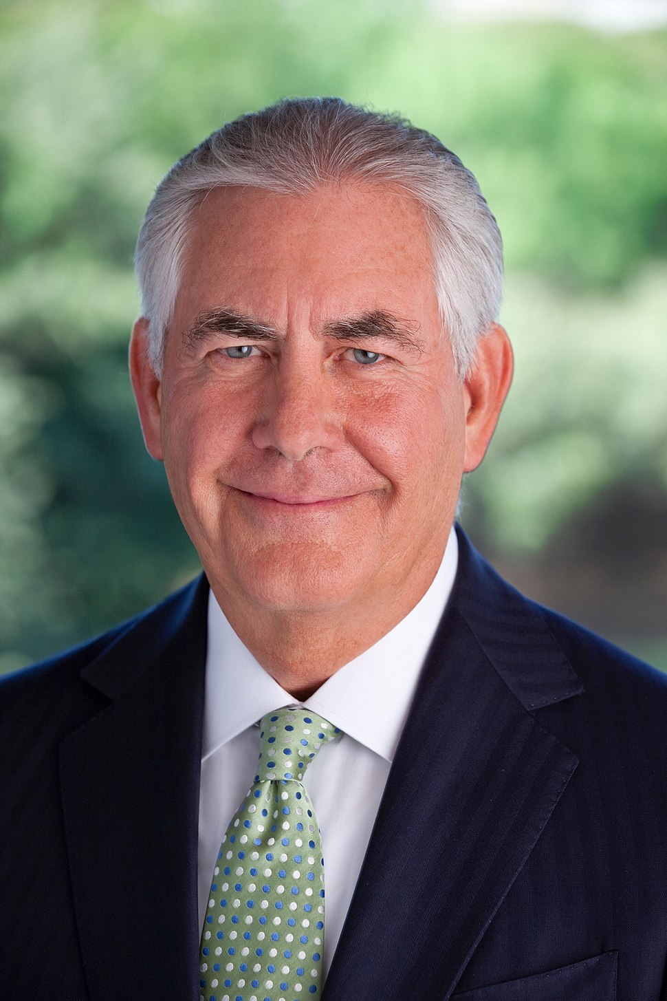 Rex Tillerson official Transition portrait