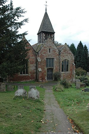 Ribbesford - Image: Ribbesford Church geograph.org.uk 1036374