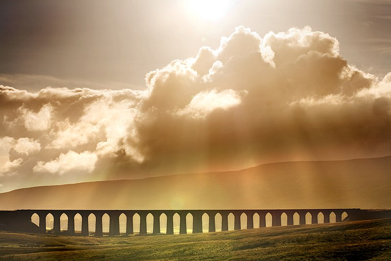 File:Ribblehead Viaduct in North Yorkshire.jpg