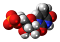 Ribothymidine monophosphate anion 3D spacefill.png