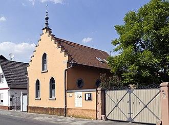 Riedstadt - Riedstadt-Erfelden former Jewish synagogue