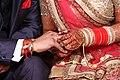 Ring ceremony in Hindu wedding.jpg